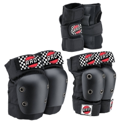 RAD Multi Protection Skate Pads 3-pack