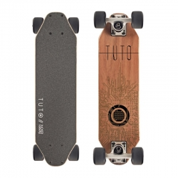 JUCKER HAWAII Mini-Cruiser WOODY-BOARD TUTO